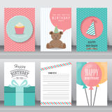 Holiday greeting and invitation card. Stock Images