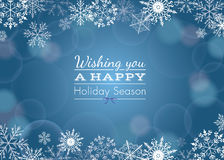 Holiday greeting Royalty Free Stock Images