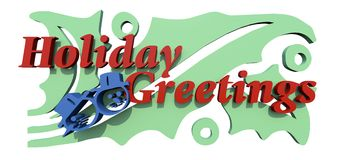 Holiday Greetings Royalty Free Stock Photo