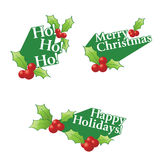 Holiday Greetings Stock Photography