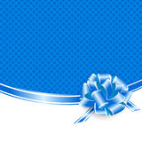 Holiday Blue Frame Stock Photos