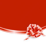 Holiday Red Frame Royalty Free Stock Photography