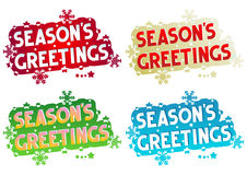 Holiday greetings - Season's Greetings Royalty Free Stock Images