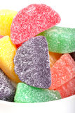 Holiday gumdrop candies Stock Photography