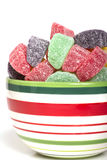 Holiday gumdrop candies Royalty Free Stock Photography