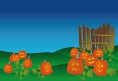 Holiday of Halloween Royalty Free Stock Images