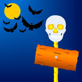 Holiday a Halloween. Royalty Free Stock Photo