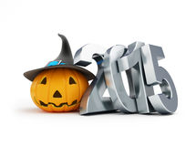 Holiday halloween in 2015 Royalty Free Stock Images
