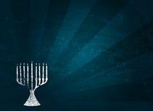 Holiday: Hanukkah Grunge Background Stock Image