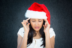 Holiday headache Royalty Free Stock Image