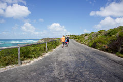 Holiday Hike at Rottnest Island Stock Image