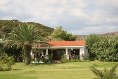 Holiday home. Greece sithonia peninsula royalty free stock photo