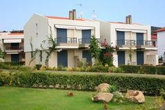 Holiday home. Greece sithonia peninsula Royalty Free Stock Image