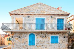 Holiday home in Antibes France Stock Image