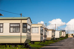 Holiday home caravans Royalty Free Stock Image