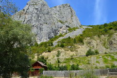 Holiday home  in  mountain areas in Transilvania, Royalty Free Stock Photos