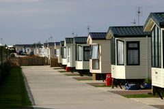 Holiday homes. Stock Images