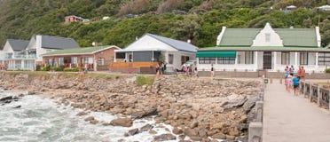 Holiday homes and caravan park at Victoria Bay Stock Photography