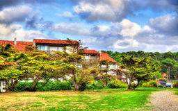 Holiday Homes near the Atlantic Ocean in Seignosse - France Royalty Free Stock Image