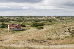Holiday Homes in the Sand Dunes Stock Photography