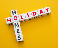 Holiday homes Royalty Free Stock Images