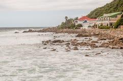 Holiday homes at Victoria Bay Stock Photos