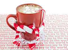 Holiday Hot Chocolate Royalty Free Stock Photography