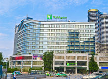 Holiday hotel. Building at chengdu,china.Photo is taken on 14 May 2011 Stock Photo