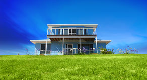 Holiday House. With coastal views Royalty Free Stock Images