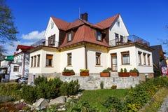Holiday House called Skalnica in Zakopane Stock Photos