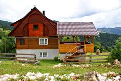 Holiday house in Mountains Apuseni Stock Photography