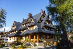 Holiday House named Malenka in Zakopane Royalty Free Stock Image