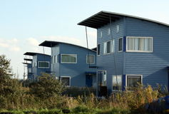 Holiday houses Stock Images