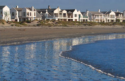 Holiday houses in Paternoster Royalty Free Stock Photos
