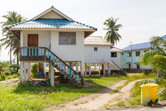 Holiday houses in Thailand Royalty Free Stock Photo