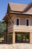 Holiday houses  in Thailand, fragment Royalty Free Stock Photo