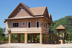 Holiday houses  in Thailand Stock Photos