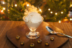 Holiday Ice Cream Royalty Free Stock Images