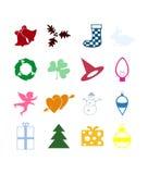 Holiday icon2 Royalty Free Stock Image