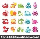 Holiday icons Stock Photo