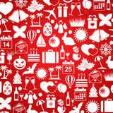 Holiday icons Royalty Free Stock Photos
