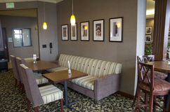 Holiday Inn Express restaurant Royalty Free Stock Photography