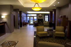 Holiday Inn Express and Suites lobby Stock Photography