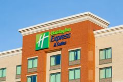 Holiday Inn hotel zdjęcie royalty free