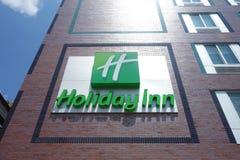 Holiday Inn. A Holiday Inn hotel in downtown Manhattan stock photo