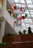 Holiday interior candy style decorations Stock Photography