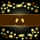 Holiday invitation or Menu design Royalty Free Stock Images