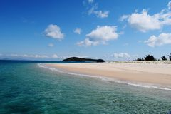 Holiday island. Great Keppel Island in Australia Stock Images