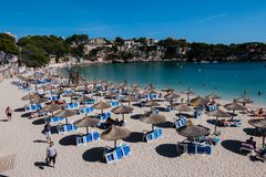 Holiday on the island of Mallorca in Spain. Holiday on the island of Mallorca, Spain Royalty Free Stock Photography