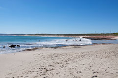 Holiday at Jake's Point, Western Australia Stock Image